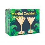 MartiniCocktail glasses overtaking doos