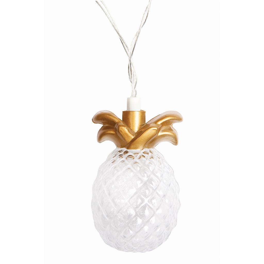 een annanas lampje met goud sunnylife mirthecastello