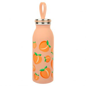 peach beker sipper thermoskanoranje perzik