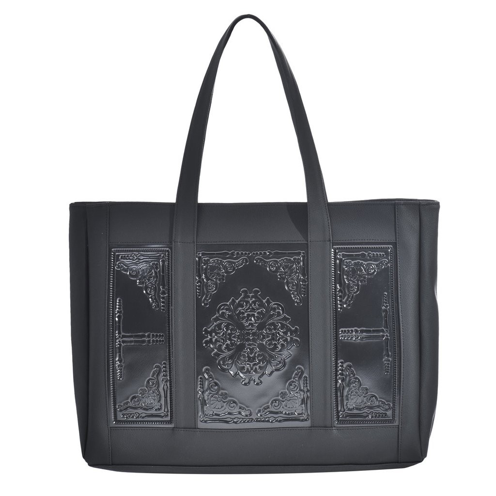 Mary Black Shoulder Bag Medusa
