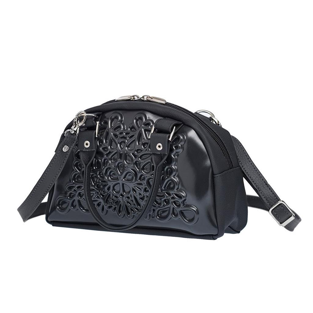 vegan bucket bag lily handtas medusa zwart black