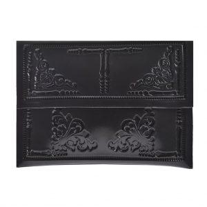 Medusa tas bag zwart black envelop
