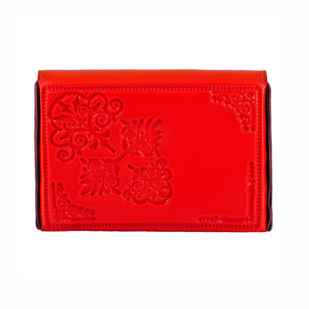 achterkant clutch rood medusa mini