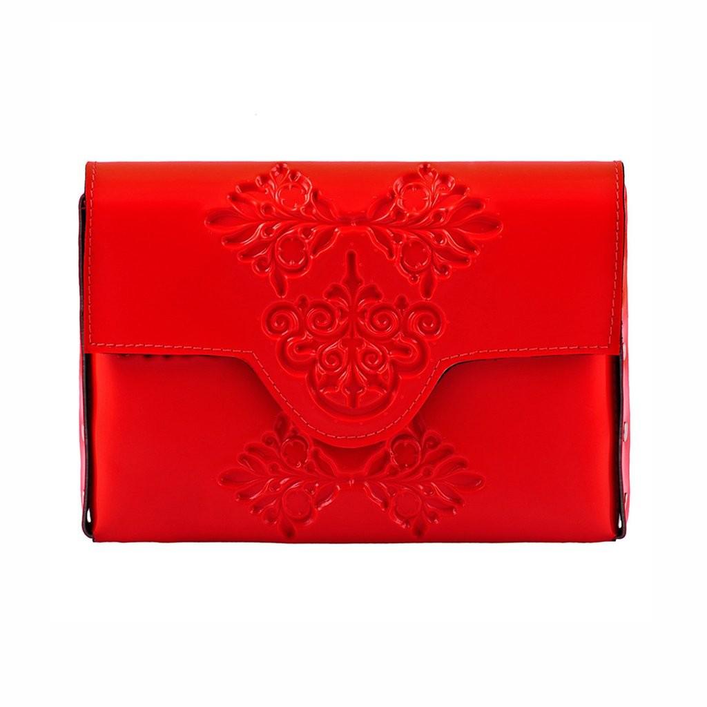 Mini Red Hand Bag Medusa
