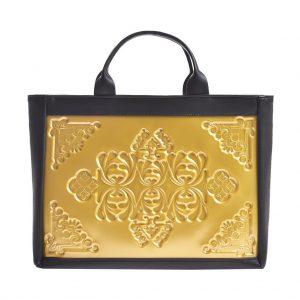 Sofi bag tas handtasschouder bag goud zwart