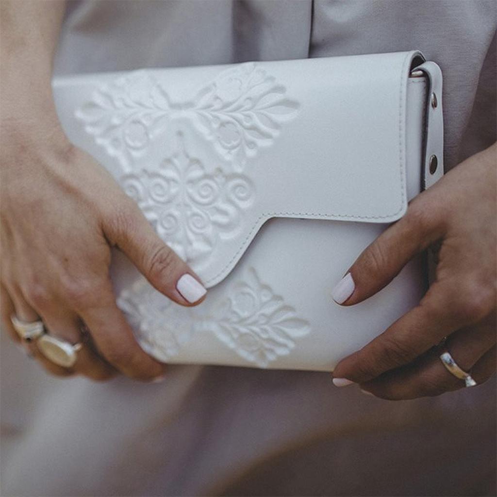 medusa witte tas bag white fashion