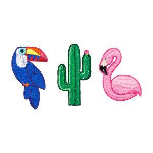 sunnylife bafgets toekan cactus flamingo set