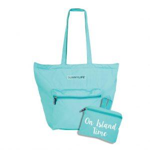 uitvouwbare tas bagbeach strand met kleine tas