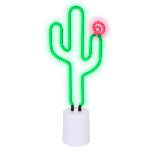 neon lamplarge cactus western groot