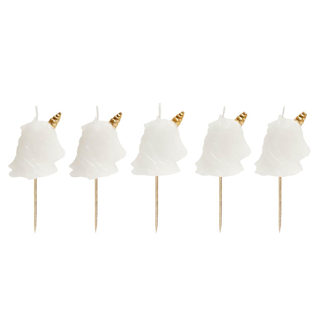 Unicorn Taart Kaarsjes Sunnylife