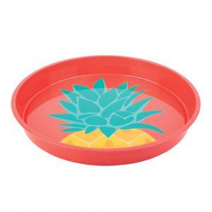 dienblad ananas pineapple tray serveren drankjes