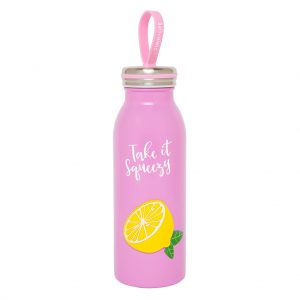 flask thermosfles take it squeezy lemon