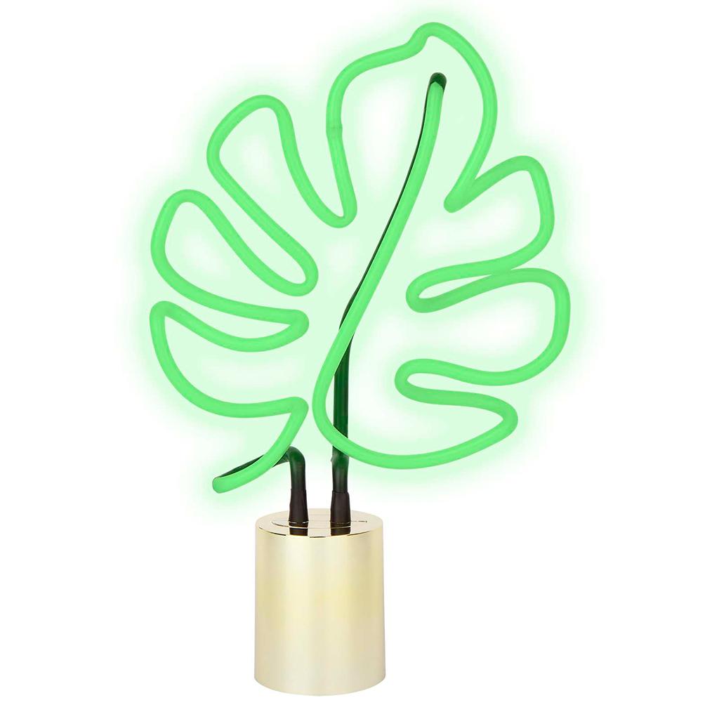 Neon Light Leaf Large Sunnylife