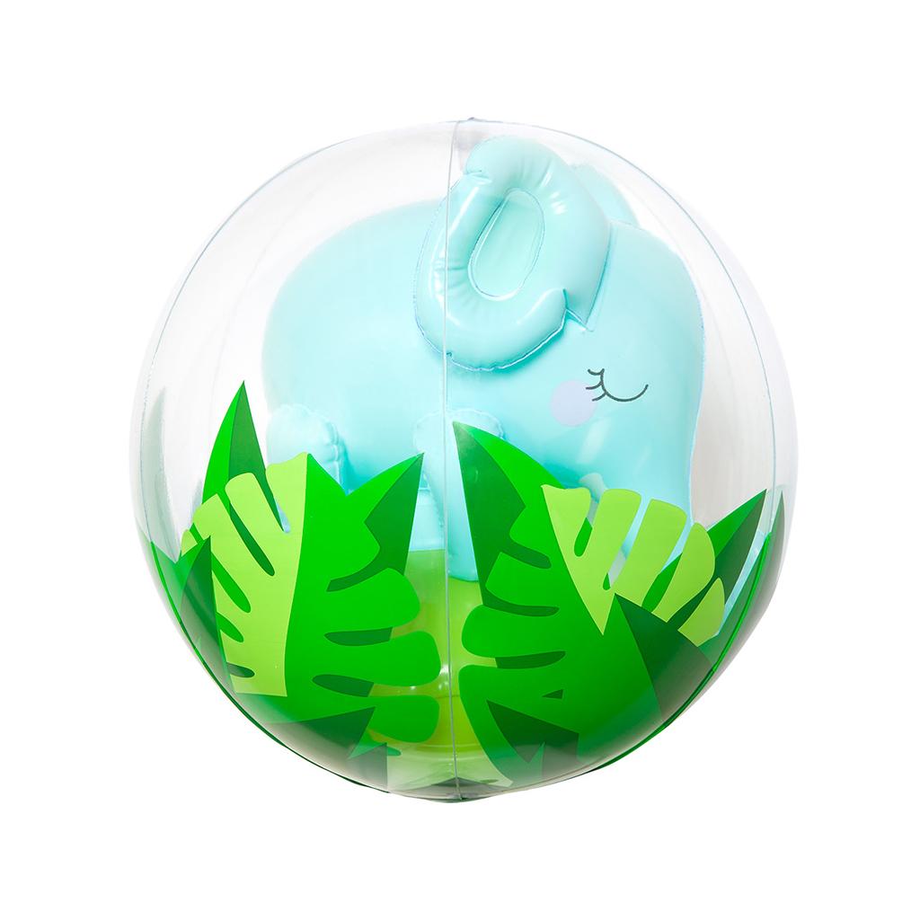 Inflatable Elephant Beach Ball 3D Sunnylife