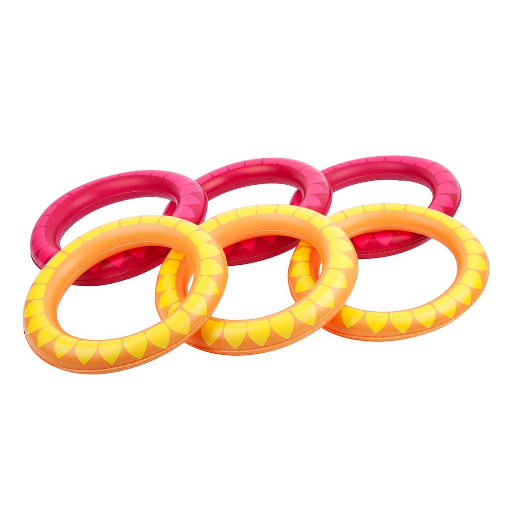 ringen gooien cactus spel game pool zwemband duiken kinderen kids