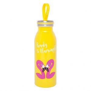 flask thermoskan geel yellow