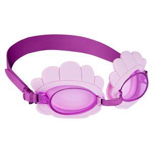 duikbril kids kinderen paars bril zwemmen shell schelp