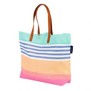 strand tas Besch bag roze oranje blauw