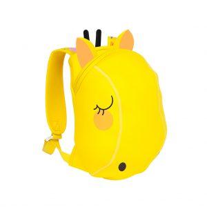 giraffe tas rugtas geel kids girls boys jongens