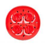 watermeloen drankje houder drink holder watermelon glazen 4 vier