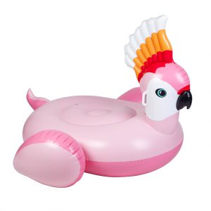 cockatoo karate pink roze float ride on drive