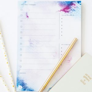planner glamour to do to check to remember