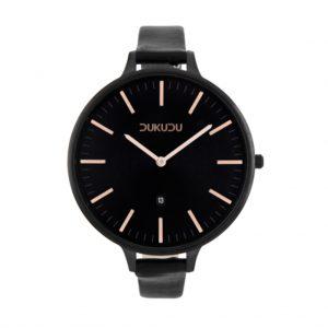 Horloge ilsa zwart dun mooi gaaf