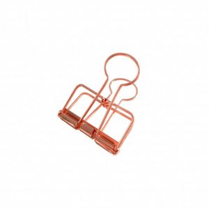 binder copper clips copper