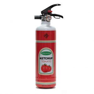brandblusser ketchup tomaat