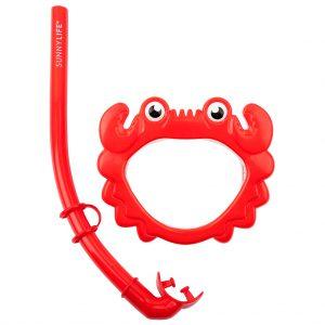 snorkel duikbril crab kids krab zwemmen spelen buitenspelen snorkel kids