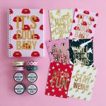 studio stationery notebooks lippen prints