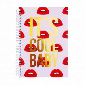 lippen notebook studio stationery