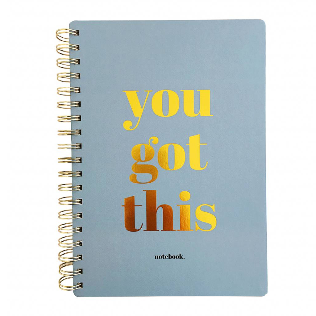 You Got This Notebook Studio Stationery