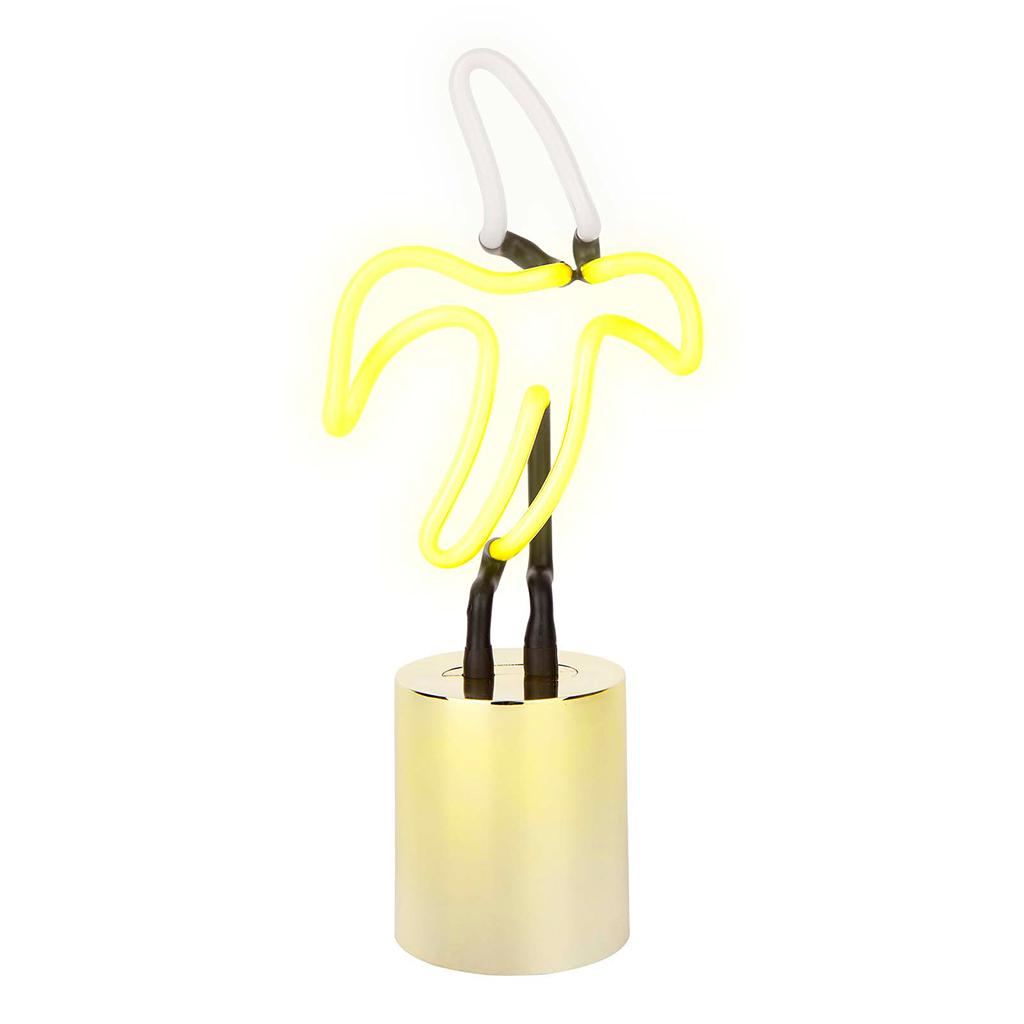 Neon Lamp Klein Banaan Sunnylife