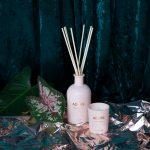 geur kaars adore roze sfeerfoto