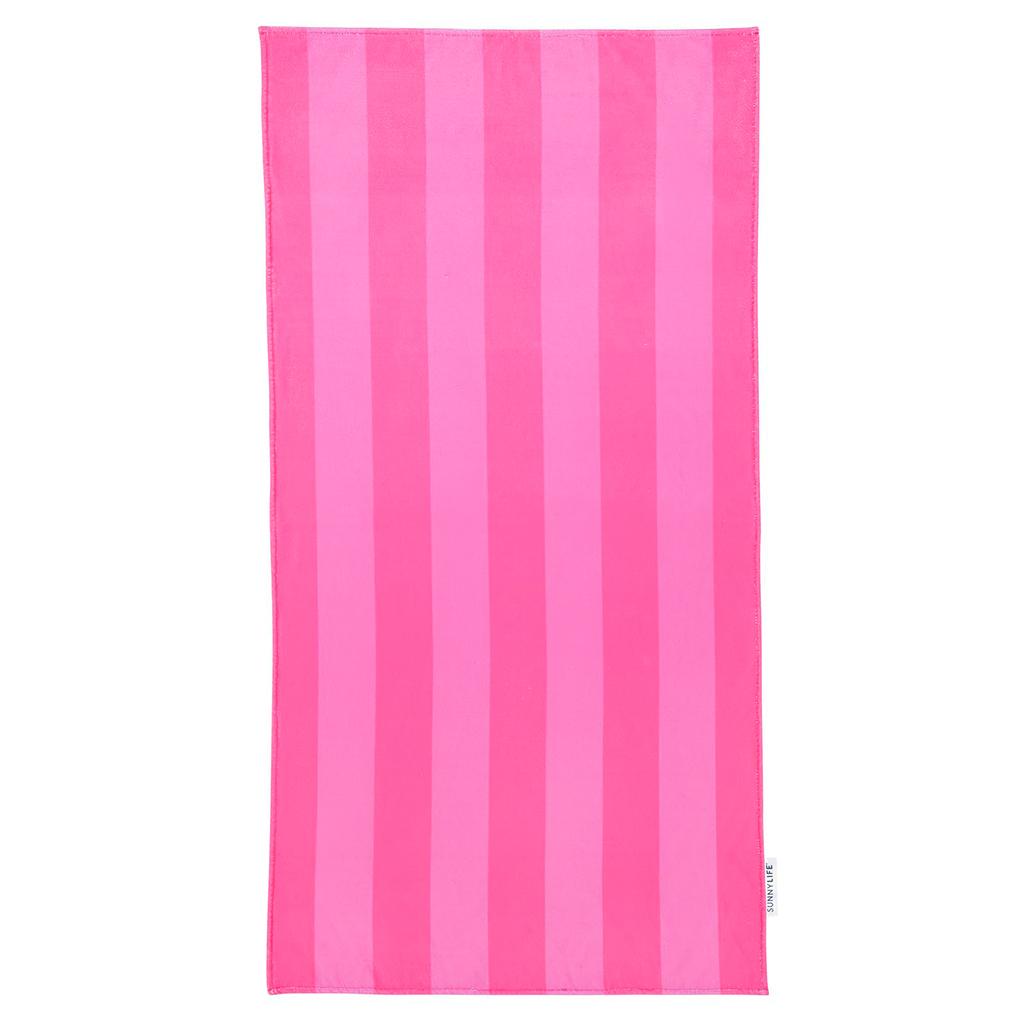 handdoek sportschool baby roze