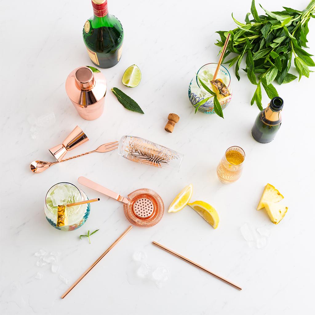 sfeerfoto rietjes cocktail