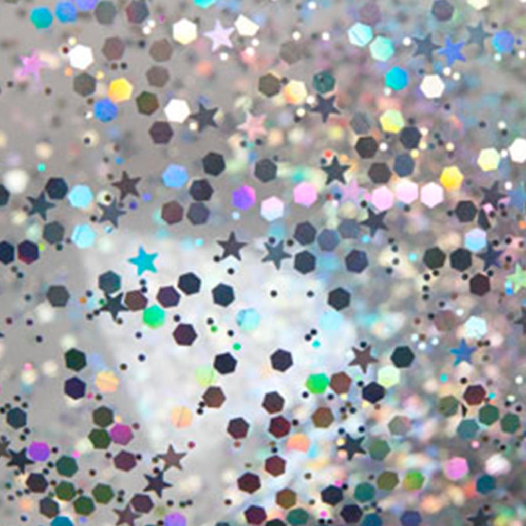 glitter close up