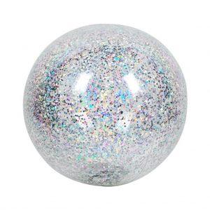 opblaas bal glitter