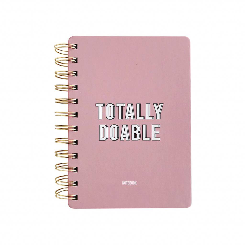 Notitieboekje Totally Doable Roze Studio Stationery