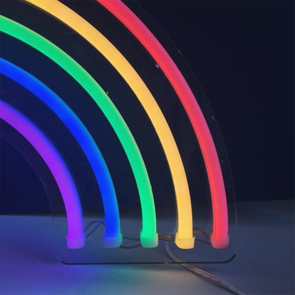 regenboog neon