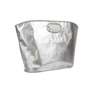 strandtas zilver