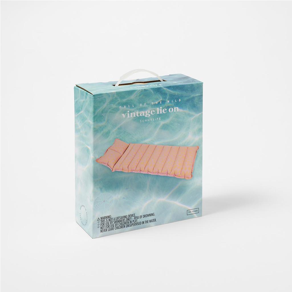 verpakking vintage luchtbed