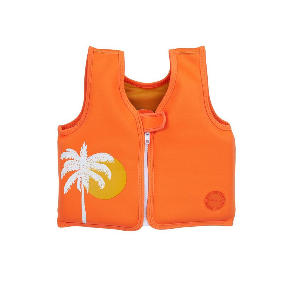 Zwemvest Desert Palm Sunnylife – Neon Oranje
