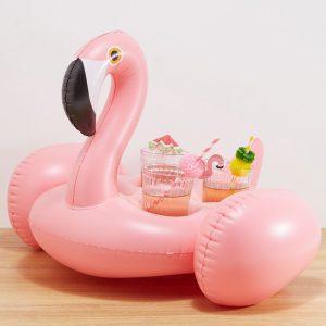 flamingo drankjeshouder opblaas sunnylife