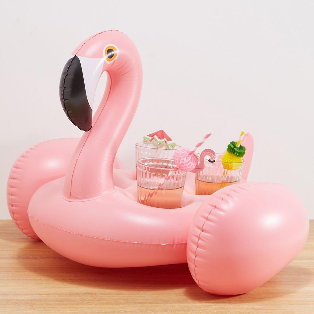 Opblaasbare Drinkhouder Flamingo Sunnylife