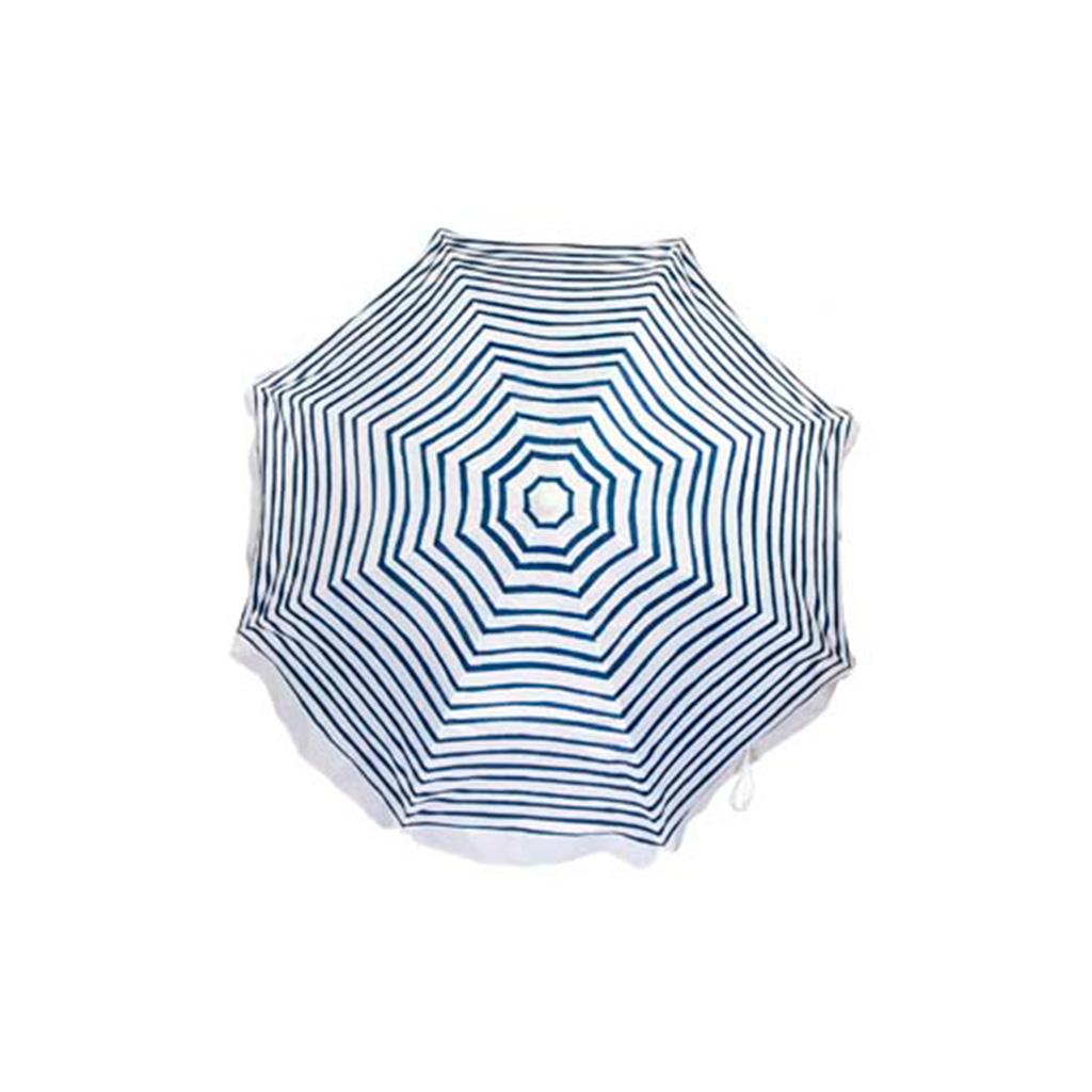 sunnylife parasol blauw bovenkant